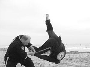 Oom Yung Doe self-defense on the beach